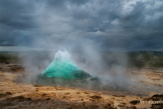 Travel Photography at Geysir, Iceland